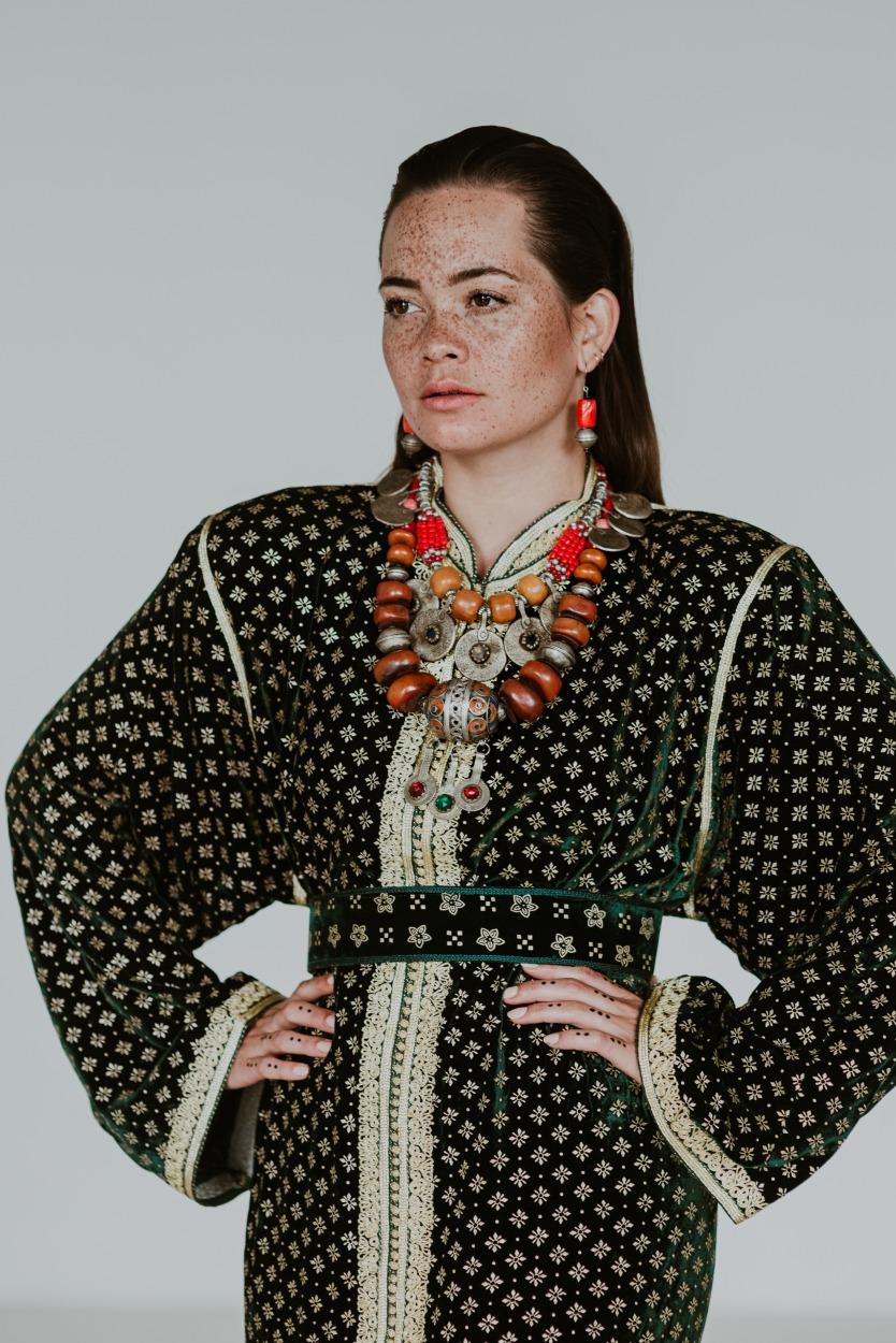 Melissa van Beek Model Actrice Actress Sproeten Freckles